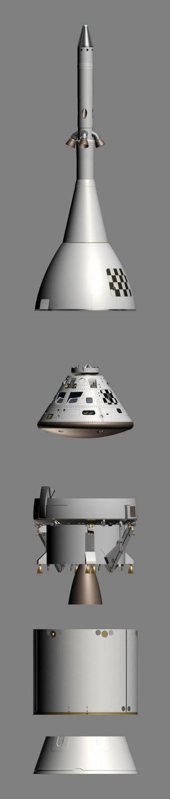 nave espacial Orion