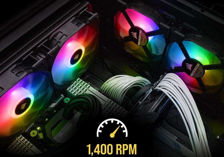 Corsair lanza el chasis inteligente iCUE 220T RGB y los ventiladores iCUE SP120 RGB PRO 32