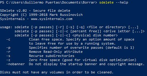 Cómo borrar ficheros en Windows de forma definitiva 33