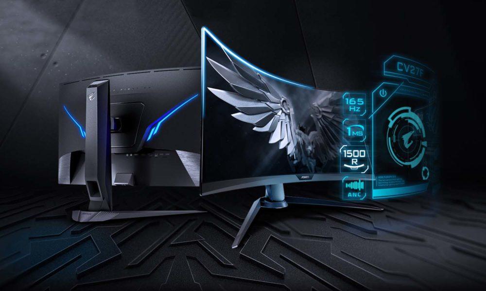 AORUS CV27F Gaming Monitor