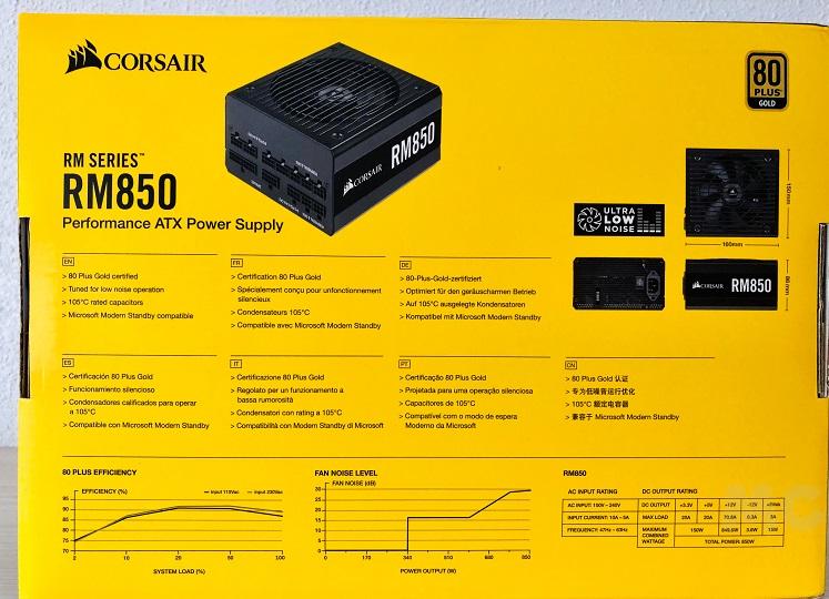 Corsair RM850, análisis: potencia y fiabilidad a buen precio 31
