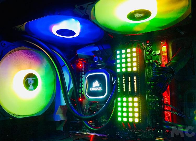 Corsair iCUE 220T RGB Airflow y Corsair iCUE SP140 RGB PRO, análisis: descubriendo el color del aire 50