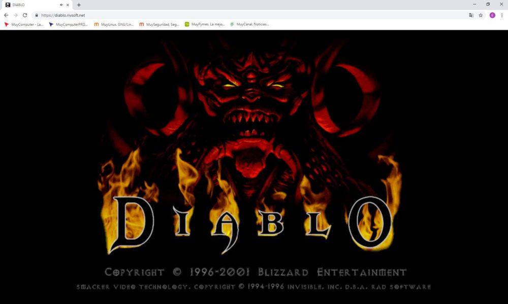 Diablo Navegador Web