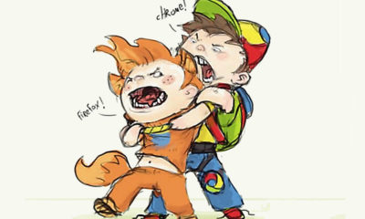 Chrome y Firefox