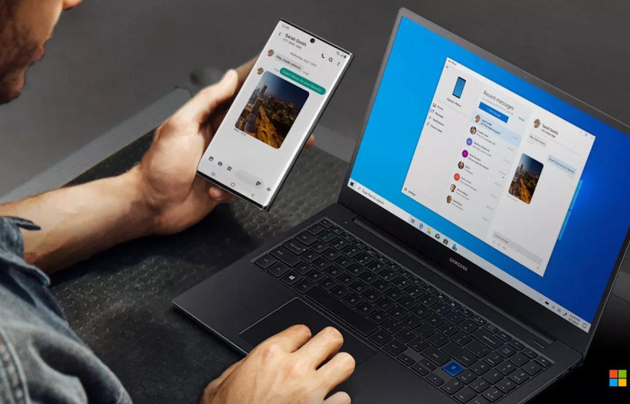 Galaxy Note 10 es el móvil de Microsoft