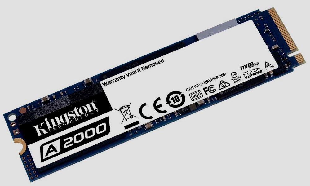 Kingston A2000, nueva SSD NVMe a precio de SATA 28