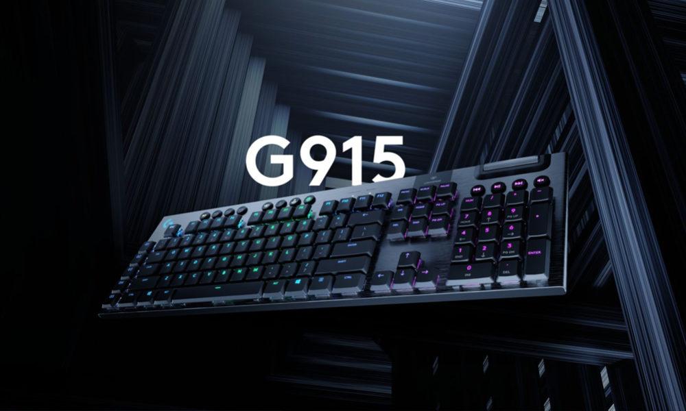 Logitech G915 G815 Teclado mecánico inalámbico