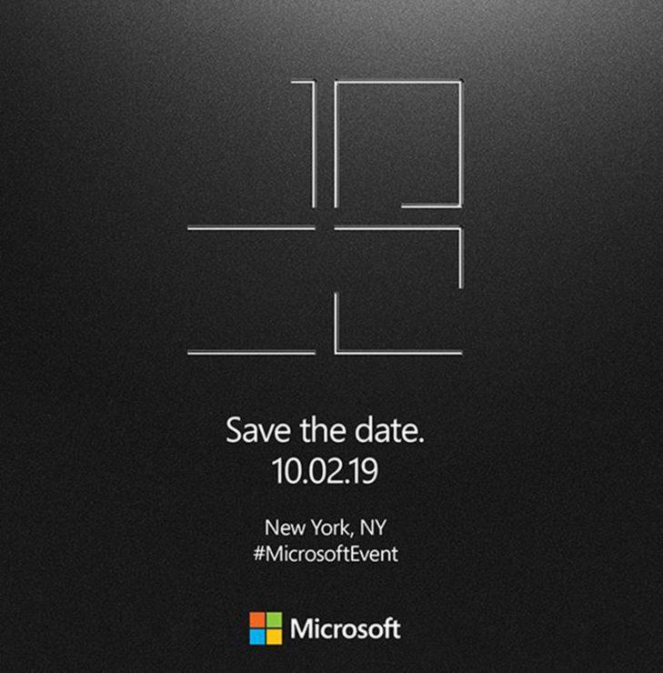 Microsoft anuncia evento Surface para el 2 de octubre 35
