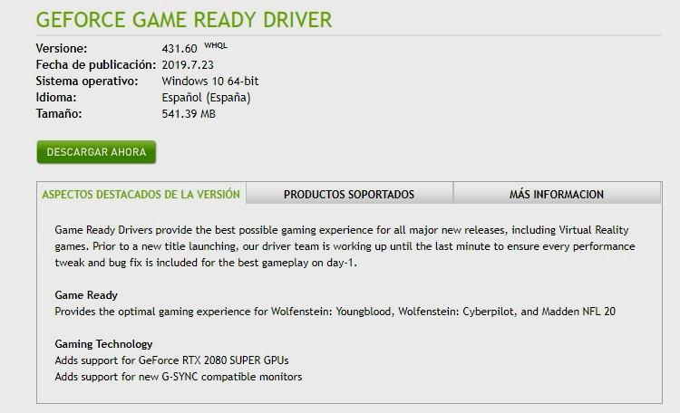 Los drivers de NVIDIA tienen fallos críticos de seguridad, ¡actualiza! 36