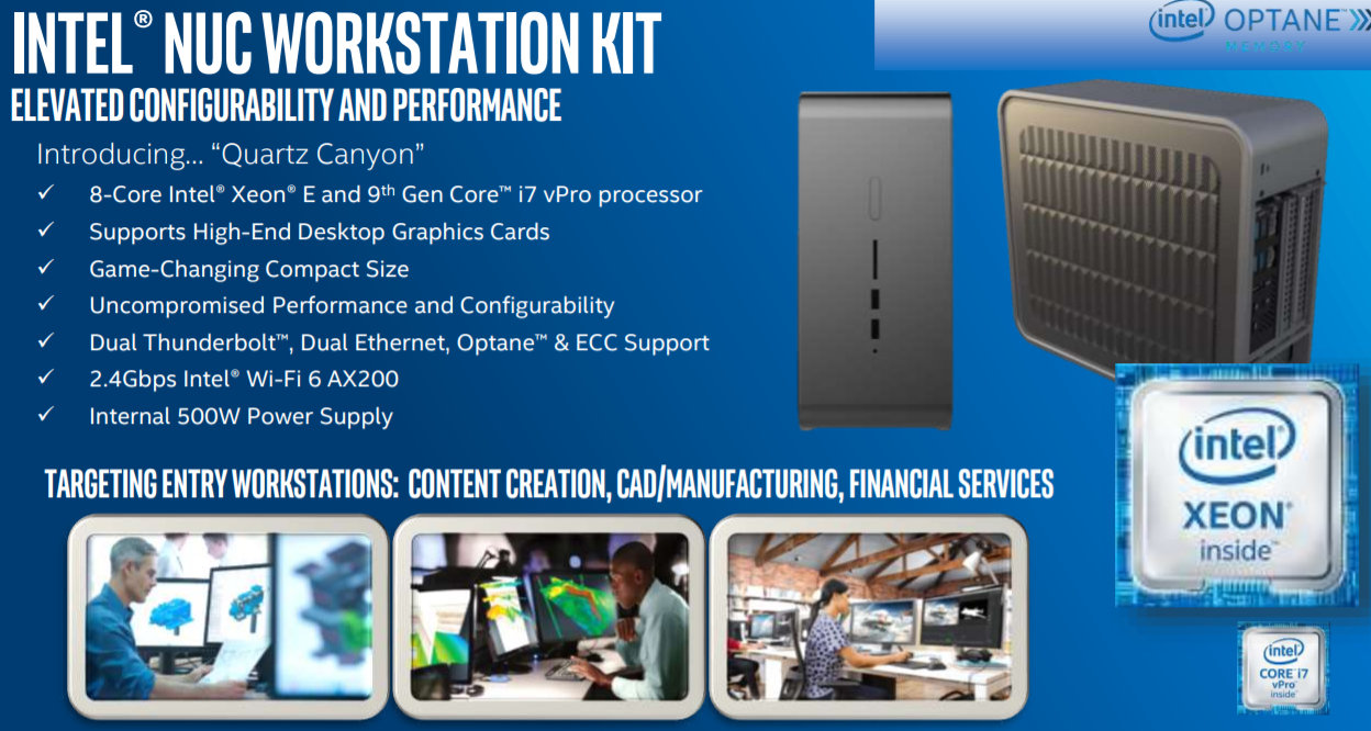 """""""Phantom Canyon"""", nuevos Intel NUC con PCIe 4 y gráficas dedicadas Xe Gen12 29"""