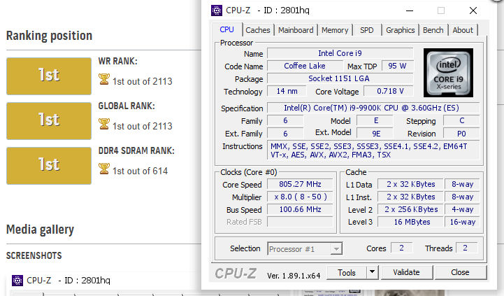overclocking sobre DDR4