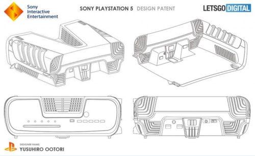 Una patente muestra el posible diseño de PS5, es verdaderamente rompedor 33