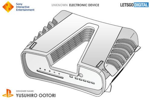 Una patente muestra el posible diseño de PS5, es verdaderamente rompedor 31