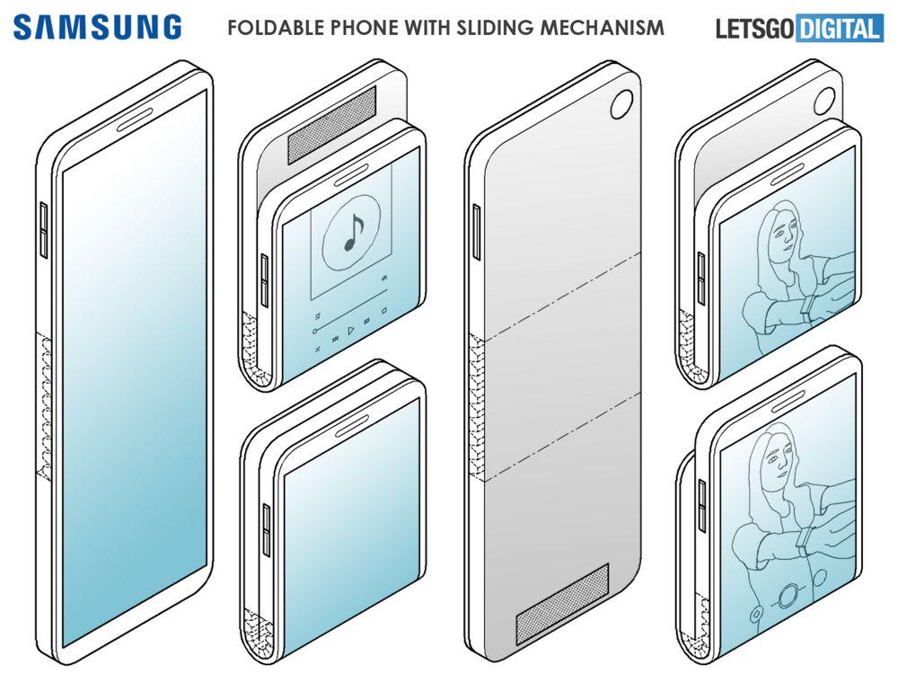 Patente de Samsung para un dispositivo que puede ser plegado como quiera el usuario