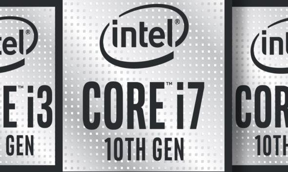 portátiles con procesadores Comet Lake