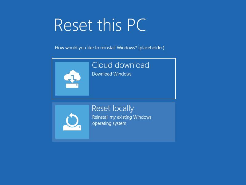 Windows 10 desde la nube