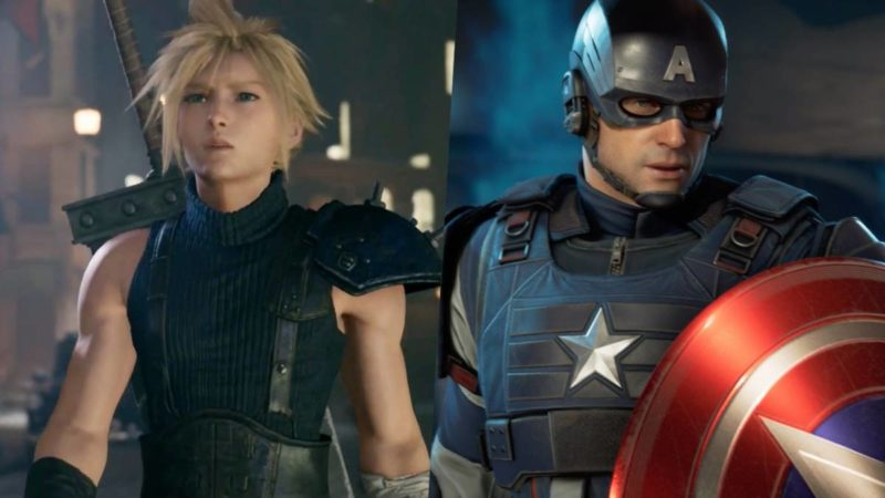 Square Enix Final Fantasy VII Remake Marvel Avengers A-Day