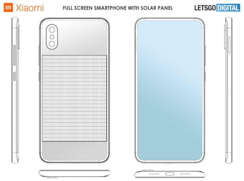 Xiaomi Panel Solar Diseño