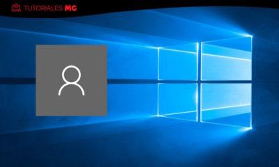 borrar cuentas en Windows 10