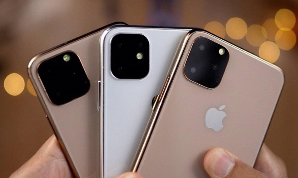 iPhone 11 en walkie-talkie