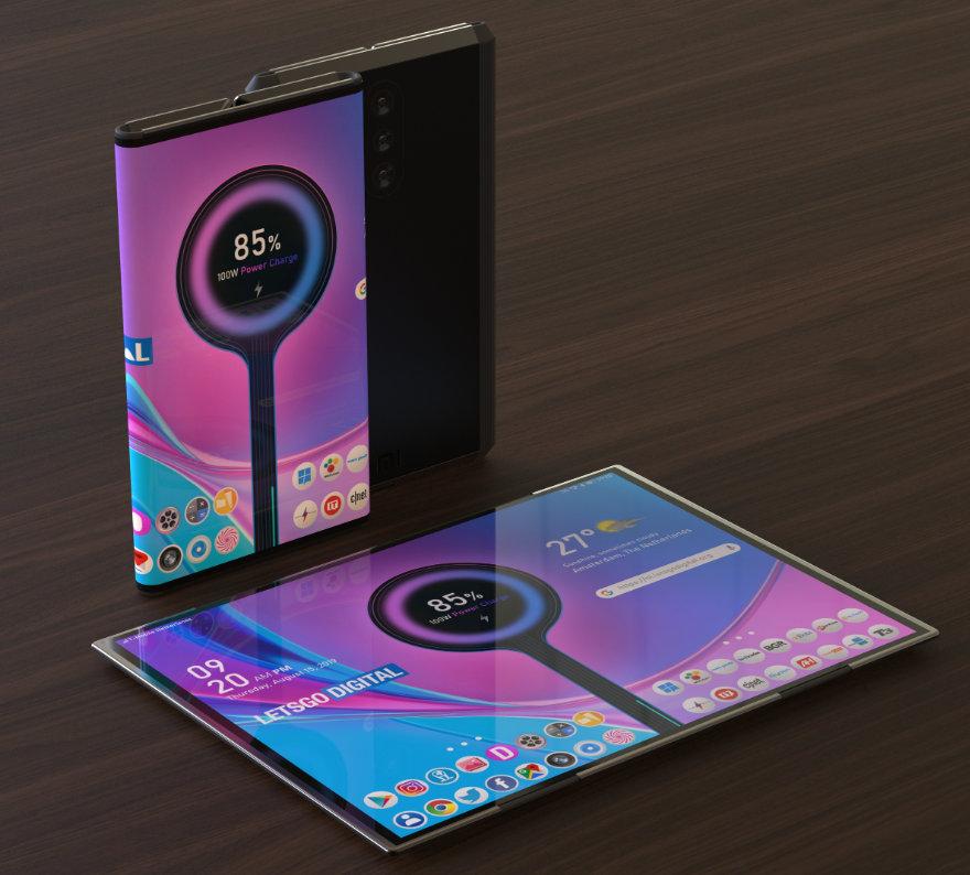 Así de chulo será el smartphone plegable de Xiaomi 33