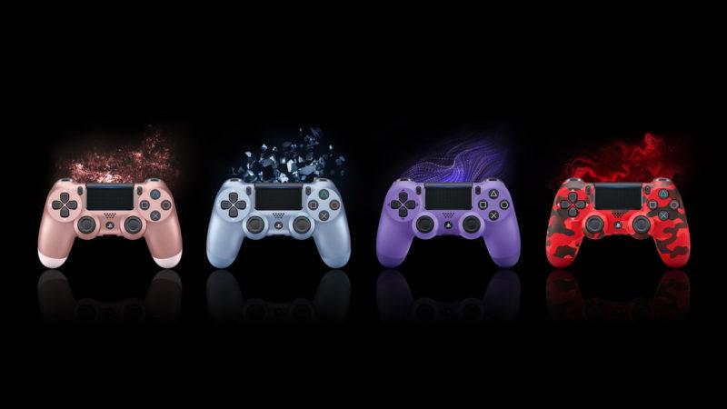 Sony PS4 Dualshock 4 nuevos colores