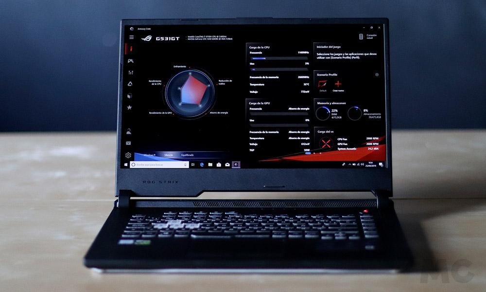 ASUS Rog Strix G531GT-BQ012, análisis: un portátil gaming que busca el equilibrio 40