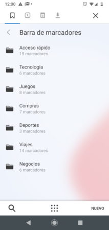 Beta de Vivaldi para Android