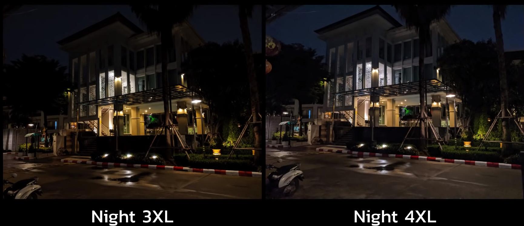 Comparativa de las cámaras traseras de los Google Pixel 3 XL y Google Pixel 4 XL haciendo fotografías en entornos con poca iluminación