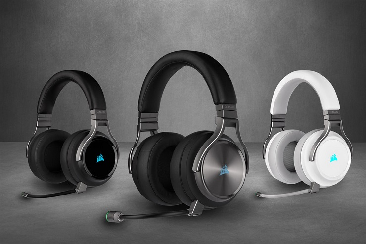 Nuevos auriculares Corsair VIRTUOSO RGB Wireless y VIRTUOSO RGB Wireless SE 32