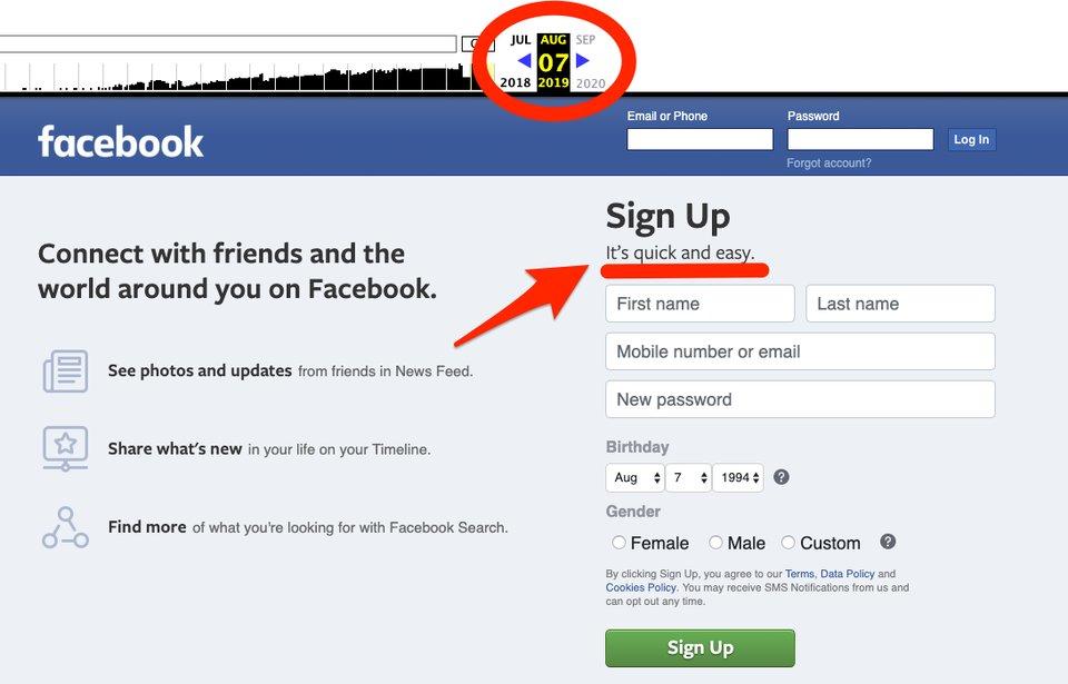 """""""Es rápido y fácil"""", el nuevo eslogan de Facebook"""