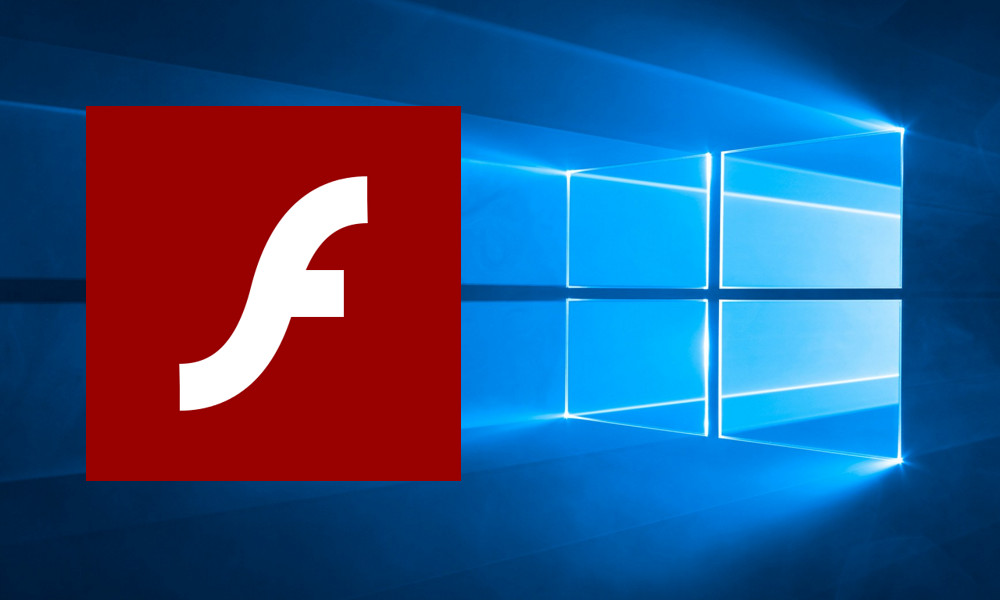 Flash en Windows 10