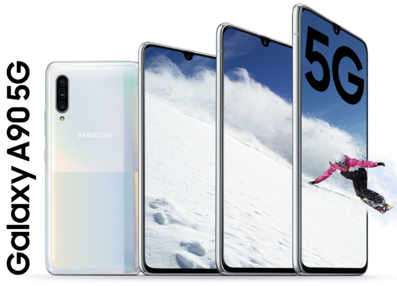 Samsung sube de nivel la gama media con el Galaxy A90 5G 32