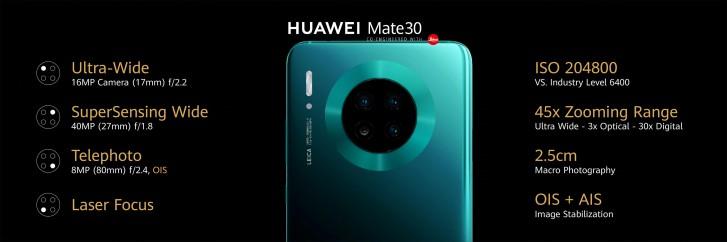 Huawei Mate 30 y Huawei Mate 30 Pro: especificaciones y precio 34