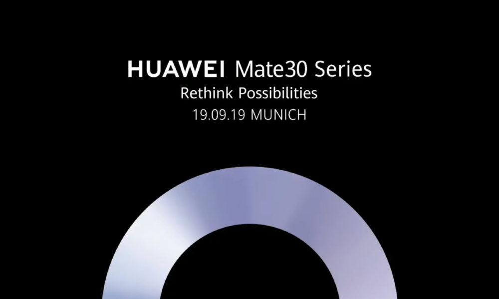 Huawei Mate 30 Fecha Presentación