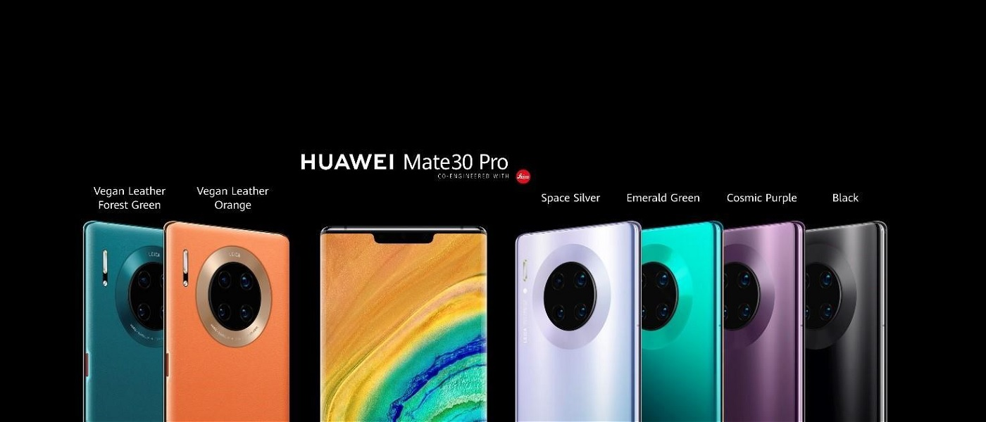 Huawei Mate 30 y Huawei Mate 30 Pro: especificaciones y precio 30