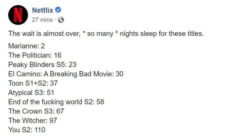 Netflix The Witcher Fecha