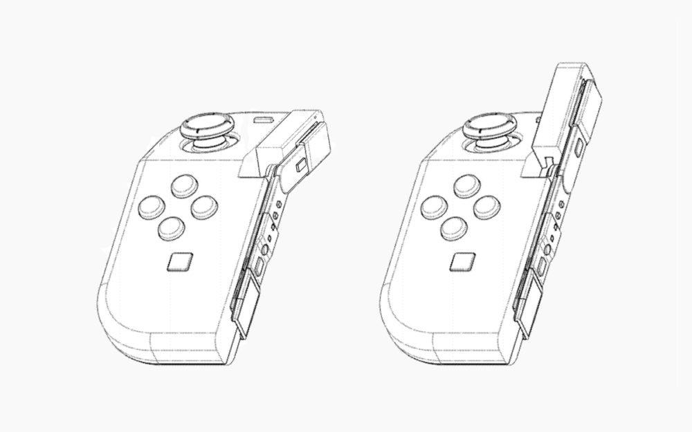 Nintendo Switch Joy-Con Plegable Patente