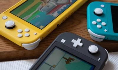 Nintendo Switch Lite Joy-Con joystick