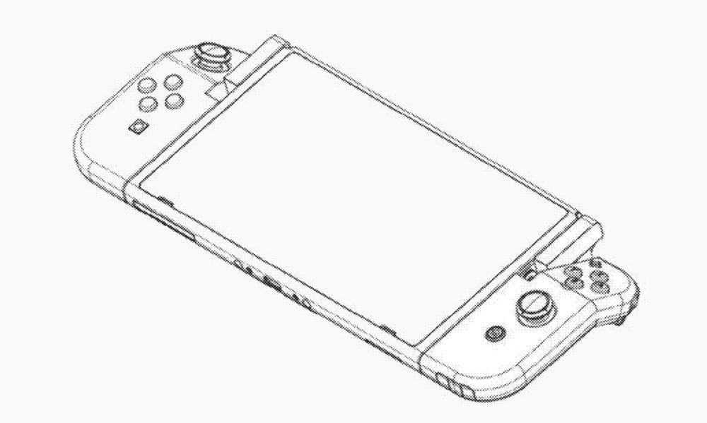 Nintendo Switch Plegable Patente