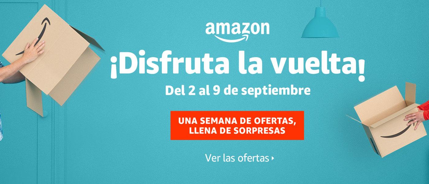 Disfruta la Vuelta de Amazon