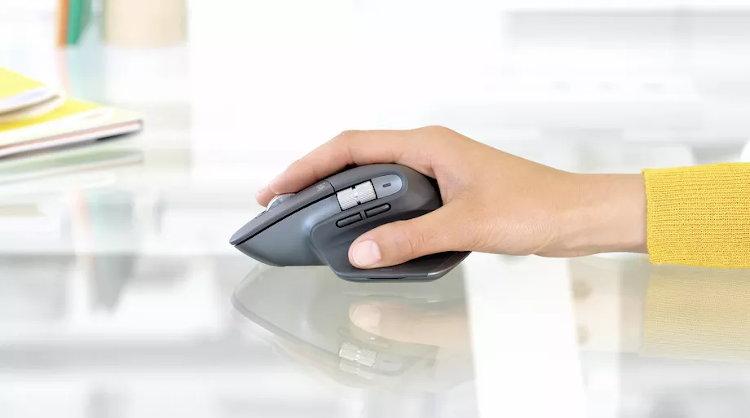Rueda secundaria del ratón y botones del pulgar del MX Master 3 de Logitech