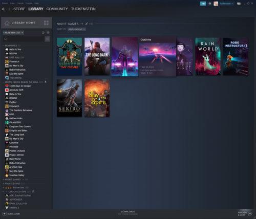 Steam nueva Interfaz