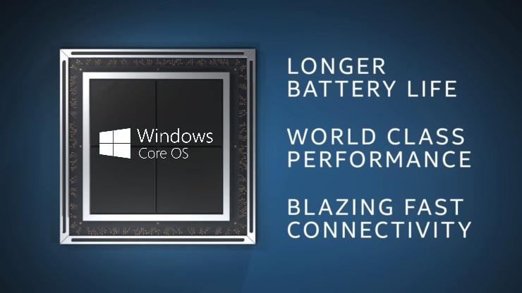Microsoft ha unido Windows Core OS y un procesador Intel de cinco núcleos 30