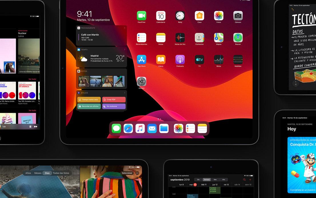 Apple publica iPadOS, su primer sistema específico para tablets 36