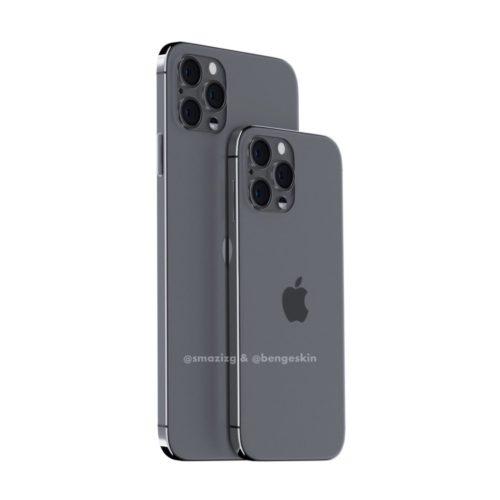 Primeros renders del iPhone 12 de Apple, un smartphone con genética de iPhone 4 30