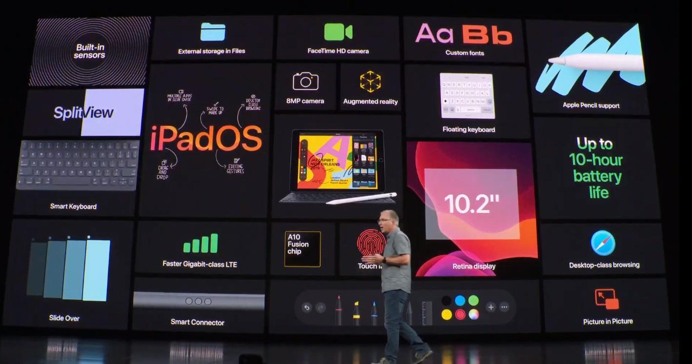 Apple presenta el nuevo iPad de séptima generación 32