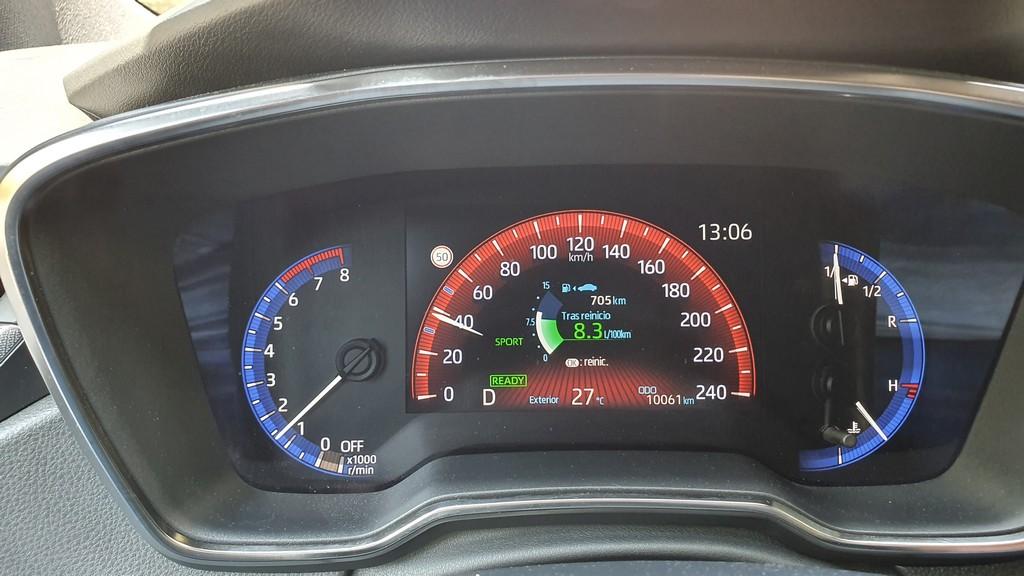 Toyota Corolla Touring Sports: llegar 38