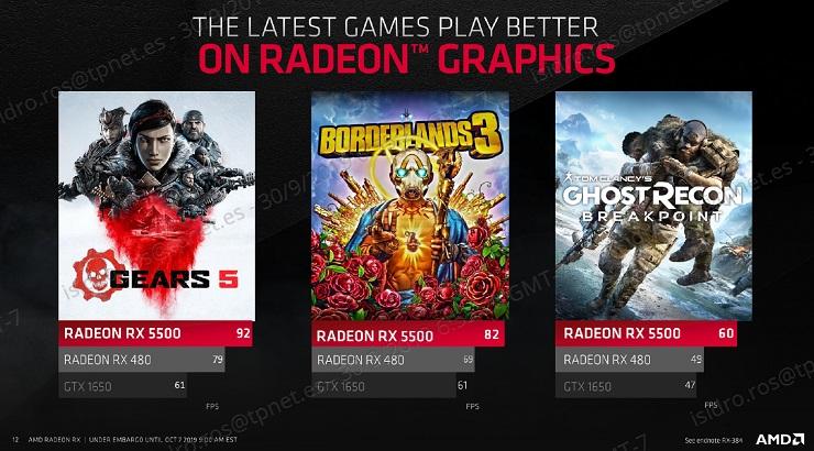AMD presenta las Radeon RX 5500, especificaciones y precio 45