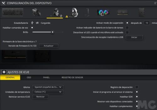 Corsair VIRTUOSO RGB Wireless SE, análisis: descubriendo el verdadero talento 70